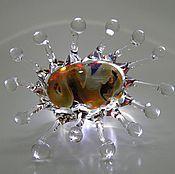 """Украшения ручной работы. Ярмарка Мастеров - ручная работа Кольцо""""Росянка"""". Handmade."""