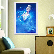 """Картины и панно ручной работы. Ярмарка Мастеров - ручная работа Набор алмазной мозаики """"Балерина"""". Handmade."""