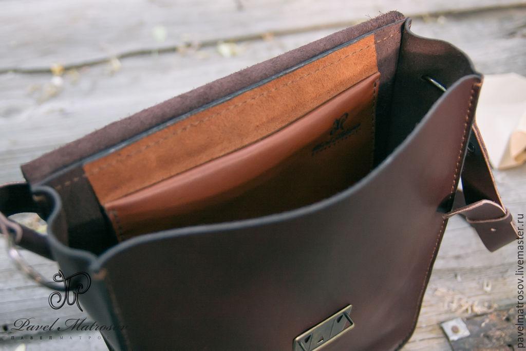 c09260b65af5 Купить Сумка-планшет из Мужские сумки ручной работы. Сумка-планшет из кожи.  Павел Матросов (pavelmatrosov) ...