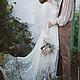 Одежда и аксессуары ручной работы. Свадебное платье с накидкой.. 'MAIDEN  BAZAR'  creative workshop. Ярмарка Мастеров. Платье с накидкой