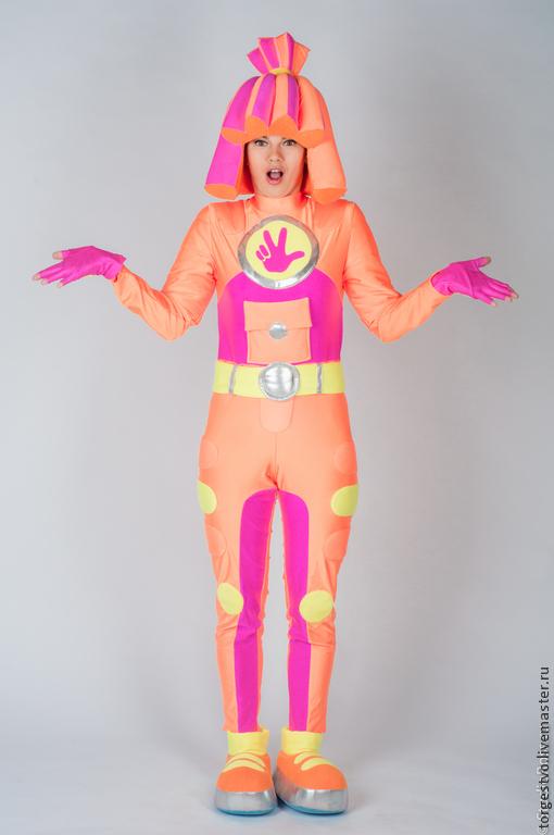 """Карнавальные костюмы ручной работы. Ярмарка Мастеров - ручная работа. Купить Костюм """"Симка"""". Handmade. Оранжевый, костюм симки, поролон"""