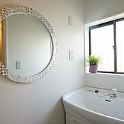 Для дома и интерьера ручной работы. Ярмарка Мастеров - ручная работа зеркало в мозаичной раме, комбинированное. Handmade.