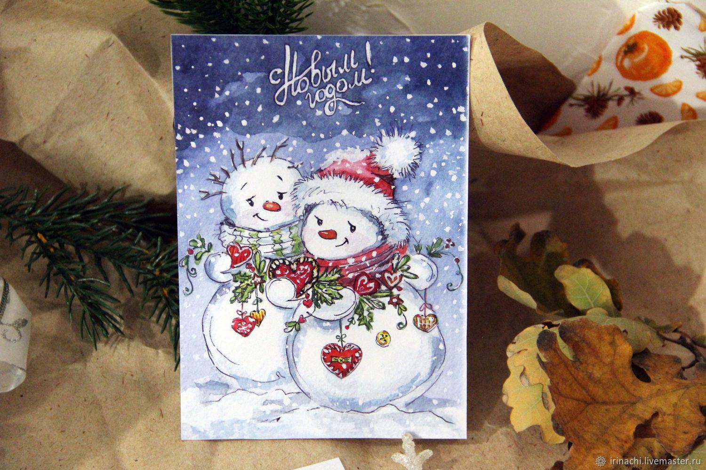 Курицей, новогодние открытки заказать в минске