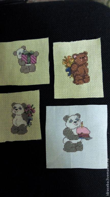 Маленькие вышивки с разной тематикой. Подойдут для украшения детской и взрослой одежды, текстильных изделий, сумок, мешочков, подарков и т.д. цена 40 руб.