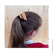 Работы для детей, handmade. Livemaster - original item Elastic hair band, made of wood.. Handmade.