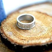 Украшения handmade. Livemaster - original item silver ring TIC-TAC-TOE. Handmade.