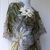 Аксессуары handmade. Livemaster - original item Openwork shawl - Meranda. Handmade.