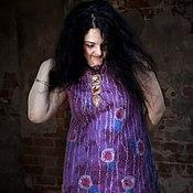 Одежда ручной работы. Ярмарка Мастеров - ручная работа Платье Подруга художника. Handmade.