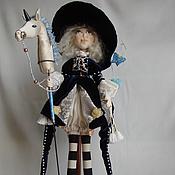 Куклы и игрушки handmade. Livemaster - original item Little rider. Handmade.