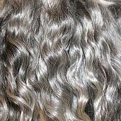 Материалы для творчества handmade. Livemaster - original item Hair for dolls (grey, natural, washed) Locks Curls dolls. Handmade.