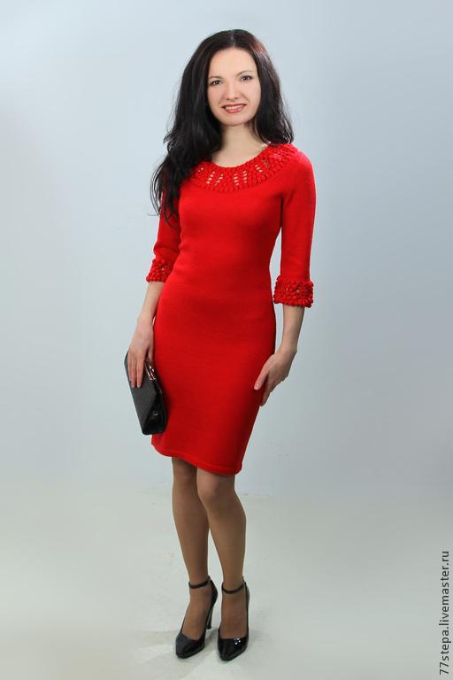 Платья ручной работы. Ярмарка Мастеров - ручная работа. Купить Платье вязаное 4471. Handmade. Платье, Платье нарядное