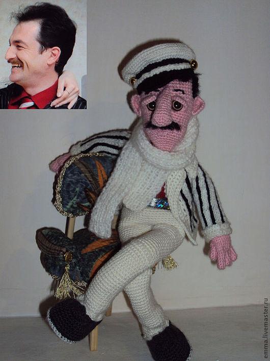 Портретные куклы ручной работы. Ярмарка Мастеров - ручная работа. Купить Портретная  вязаная кукла ручной работы.. Handmade.