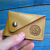 Сумки и аксессуары handmade. Livemaster - original item Business card holders: wallet case for a plastic card (ENVELOPE). Handmade.