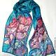 Batik scarf 'Summer dream.', Scarves, Yaroslavl,  Фото №1