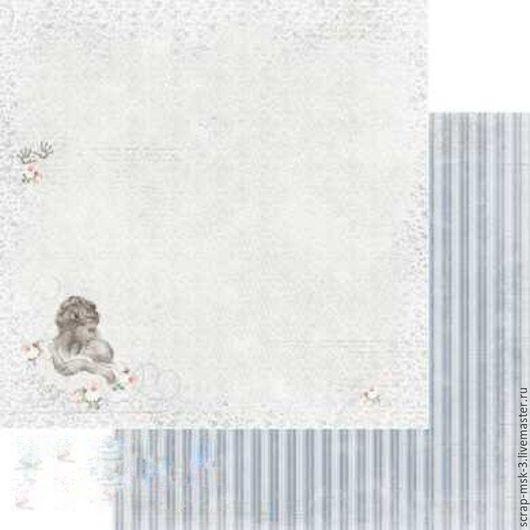 Открытки и скрапбукинг ручной работы. Ярмарка Мастеров - ручная работа. Купить Бумага для скрапбукинга по листу Нежность 4058 Fleur Design. Handmade.