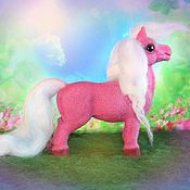Куклы и игрушки ручной работы. Ярмарка Мастеров - ручная работа Гламурная лошадка Поночка. Handmade.