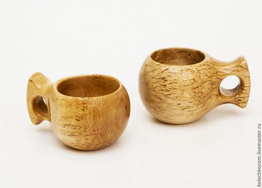 Кухня ручной работы. Ярмарка Мастеров - ручная работа. Купить Кукса (чашка) из массива карельской березы. Handmade. Бежевый, чаша