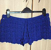 Одежда ручной работы. Ярмарка Мастеров - ручная работа Летние шорты вязаные. Handmade.