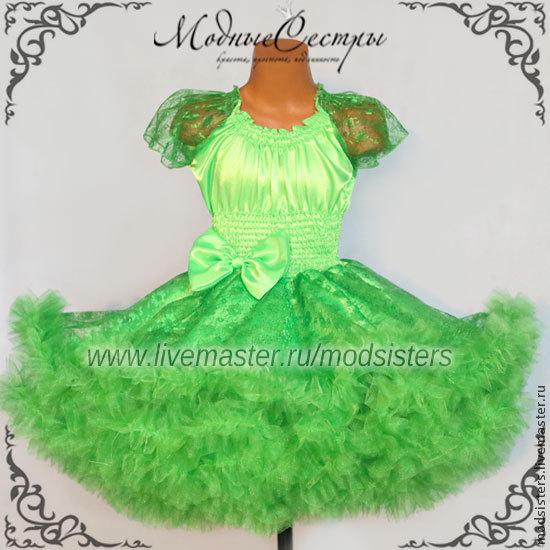 Baby dress 'Emerald' lace Art.122, Childrens Dress, Nizhny Novgorod,  Фото №1