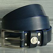 Аксессуары handmade. Livemaster - original item Men`s belt leather Navitel.. Handmade.