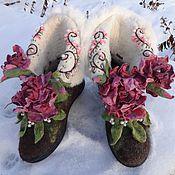 """Обувь ручной работы. Ярмарка Мастеров - ручная работа Валенки """"Китти"""". Handmade."""