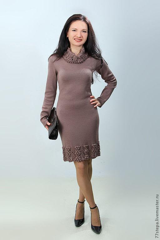 Платья ручной работы. Ярмарка Мастеров - ручная работа. Купить Платье вязаное 4470. Handmade. Платье, Платье нарядное