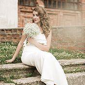 Свадебный салон ручной работы. Ярмарка Мастеров - ручная работа Свадебное платье для Оксаны. Handmade.