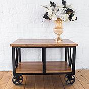 """Столы ручной работы. Ярмарка Мастеров - ручная работа Кофейный столик в стиле лофт """"Anders"""". Handmade."""
