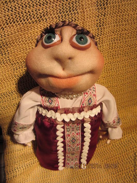 Коллекционные куклы ручной работы. Ярмарка Мастеров - ручная работа. Купить Кукла текстильная. Варвара -Краса длинная коса ручной работы.. Handmade.