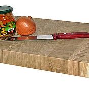 Для дома и интерьера ручной работы. Ярмарка Мастеров - ручная работа Торцевая разделочная доска 450х300х50мм. Handmade.