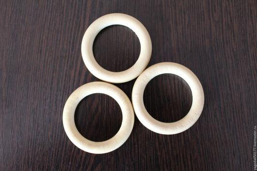 Другие виды рукоделия ручной работы. Ярмарка Мастеров - ручная работа. Купить Кольцо деревянное для обвязывания  ,неокрашенное 50 мм. Handmade.
