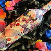 Посуда ручной работы. Ярмарка Мастеров - ручная работа СВАДЬБА ЯГОДНЫХ БАБОЧЕК  бутылка нарядная (без содержимого). Handmade.