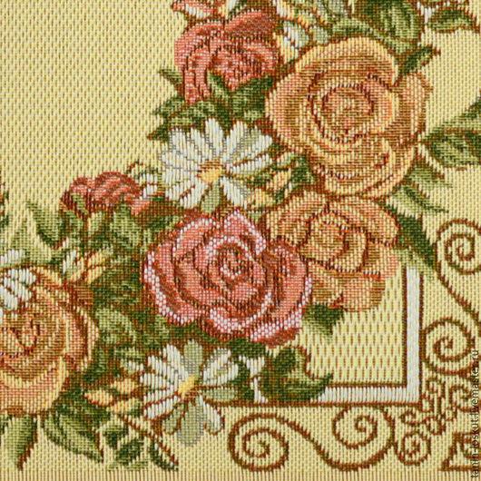 Текстиль, ковры ручной работы. Ярмарка Мастеров - ручная работа. Купить Розарий. Handmade. Гобелен, цветной, дача, посуда, розарий