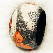 """Украшения ручной работы. Ярмарка Мастеров - ручная работа Браслет """"Paris, Paris..."""". Handmade."""