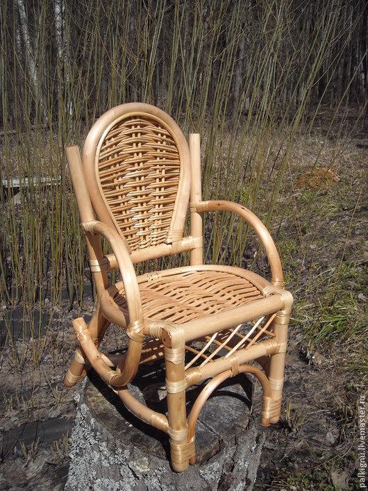 Детская ручной работы. Ярмарка Мастеров - ручная работа. Купить Кресло для маленьких детей. Handmade. Желтый, мебель из дерева, детский
