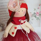 Куклы и игрушки ручной работы. Ярмарка Мастеров - ручная работа Текстильная интерьерная кукла АЛИНА. Handmade.