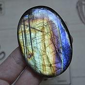 Материалы для творчества handmade. Livemaster - original item Labradorite. Cabochon 68 X 48 X 7,5. Handmade.
