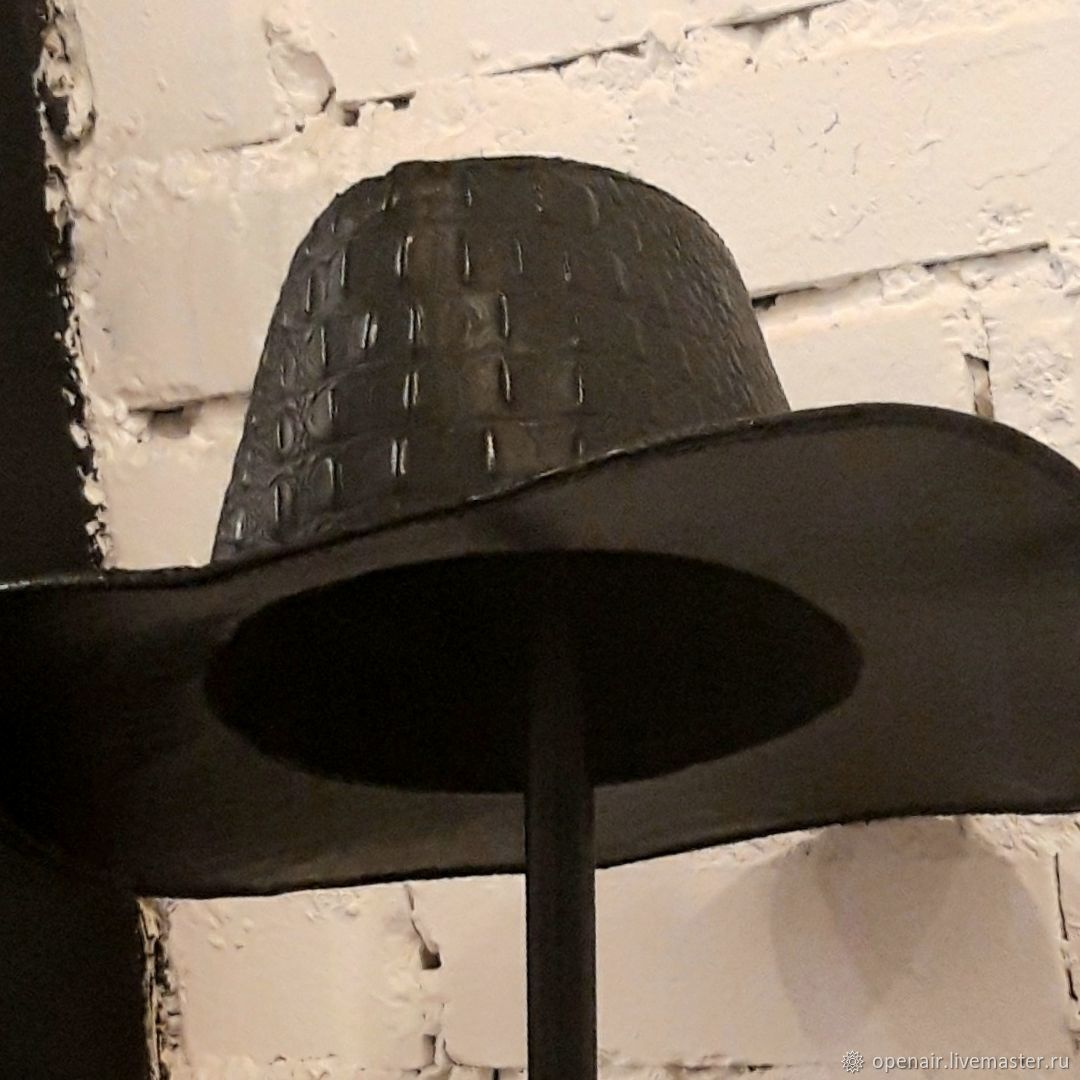 SMPRX10 Genuine Leather Western Hat, Hats1, St. Petersburg,  Фото №1