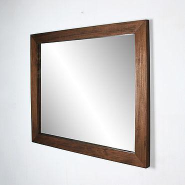 Для дома и интерьера ручной работы. Ярмарка Мастеров - ручная работа Зеркало прямоугольное Бруклин, зеркало в прихожую настенное.. Handmade.