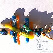 """Украшения ручной работы. Ярмарка Мастеров - ручная работа Кулон из стекла """"Равновесие"""". Handmade."""