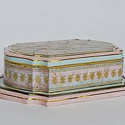 Для дома и интерьера handmade. Livemaster - original item Jewelry box, jewelry decoupage French Lily. Handmade.