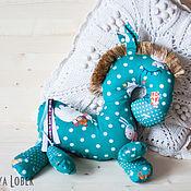 """Куклы и игрушки ручной работы. Ярмарка Мастеров - ручная работа Лошадка для сна """"Бирюзовый снег"""". Handmade."""
