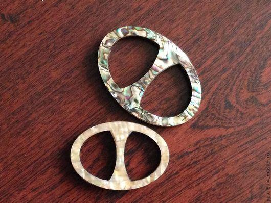 """Шали, палантины ручной работы. Ярмарка Мастеров - ручная работа. Купить Кольцо """"Классика мини"""" для платка или шали шали из дерева и перламутра. Handmade."""