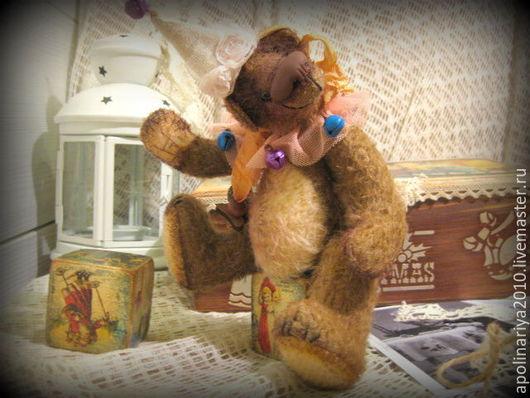 """Мишки Тедди ручной работы. Ярмарка Мастеров - ручная работа. Купить Pauli...мишка-тедди.. Серия """"Винтажный цирк"""". Handmade."""