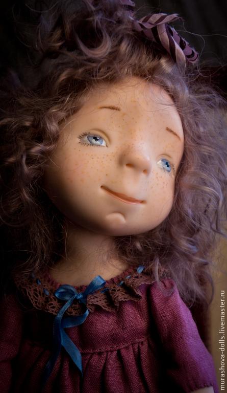 Коллекционные куклы ручной работы. Ярмарка Мастеров - ручная работа. Купить Мяфля. Handmade. Авторская ручная работа, living doll