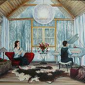 Картины и панно ручной работы. Ярмарка Мастеров - ручная работа Без названия. Handmade.