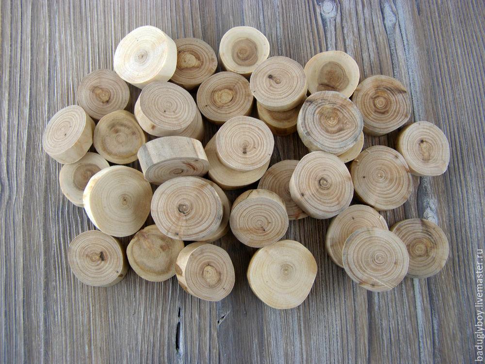 Деревянные игрушки для декора