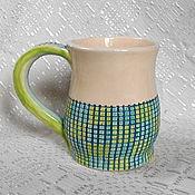 Посуда handmade. Livemaster - original item Mug ceramic Tetris. Handmade.