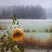 Картины и панно handmade. Livemaster - original item November (the artist Vladimir Tarasov). Handmade.