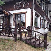 Для дома и интерьера handmade. Livemaster - original item Wooden decorative fence made of pine and driftwood. Handmade.